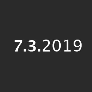 7.3.2019